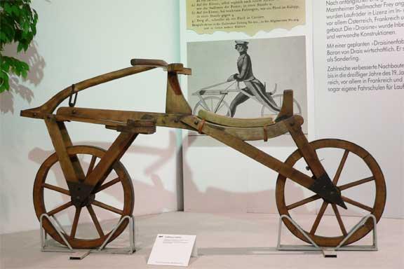 cykel baron karl von drais