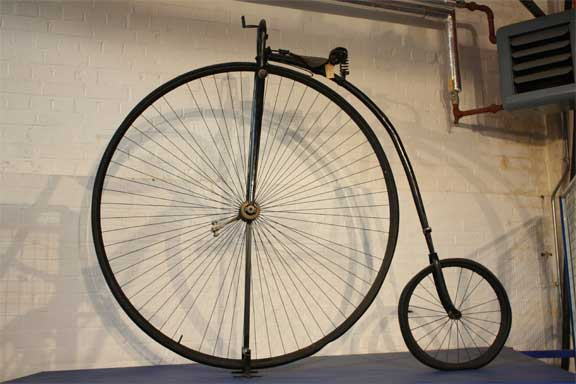cyklens historie tidslinje